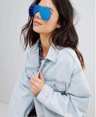 7X Futuristic Visor Sunglasses $16.00 - asos